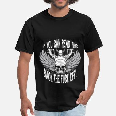 Motorcycle Fuck Motorcycles - Fuck Off - Men's T-Shirt