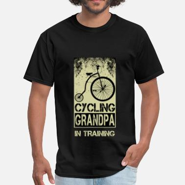 Cycling Grandpa Grandpa - Cycling - Men's T-Shirt