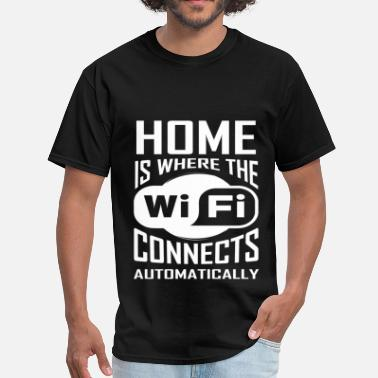 Connected Wifi Wifi - Wifi Connects - Men's T-Shirt