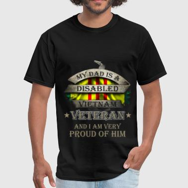 Vietnam Veteran Vietnam Veteran - My Dad - Men's T-Shirt