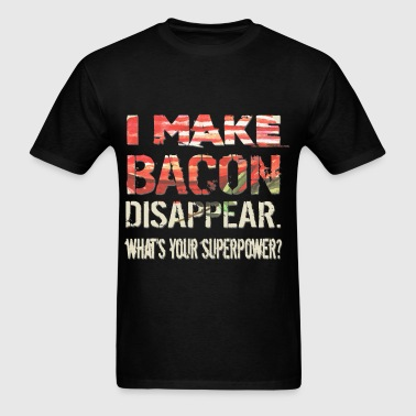 Bacon - Disappear - Men's T-Shirt