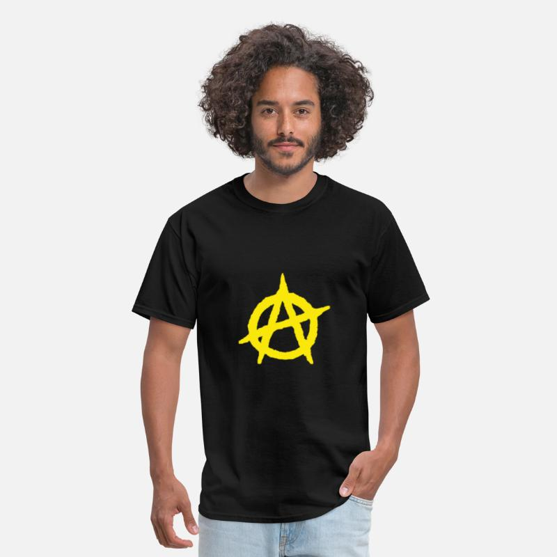 Anarchy T-Shirts - Anarcho Capitalism - Men's T-Shirt black