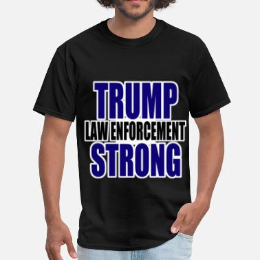 Police For Trump Trump law enforcement - Men's T-Shirt