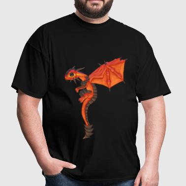 Lava Dragon - Men's T-Shirt