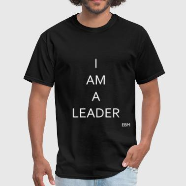Leadership Quotes Empowered Black Male 5 - Men's T-Shirt