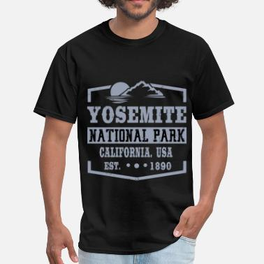 Yosemite National Park YOSE2.png - Men's T-Shirt