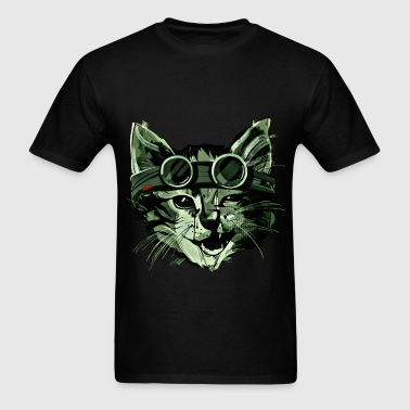 Stink Eye Cat - Men's T-Shirt
