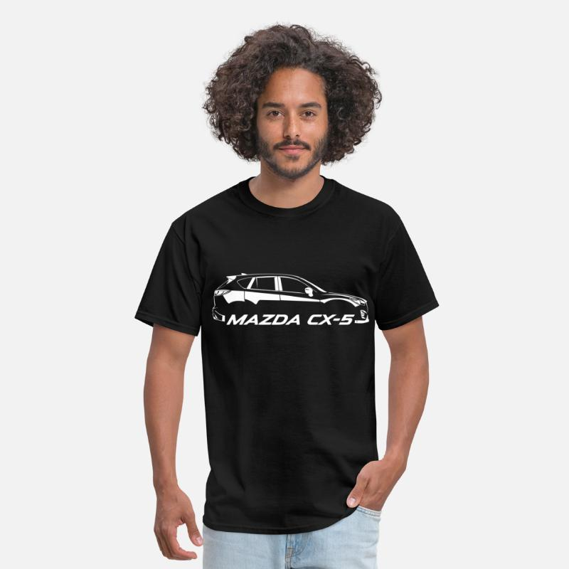 Mazda T-Shirts - Mazda CX-5 SUV - Men's T-Shirt black