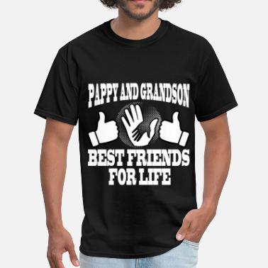 Pappy And Grandson PAPPY AND GRADNSON 2.png - Men's T-Shirt