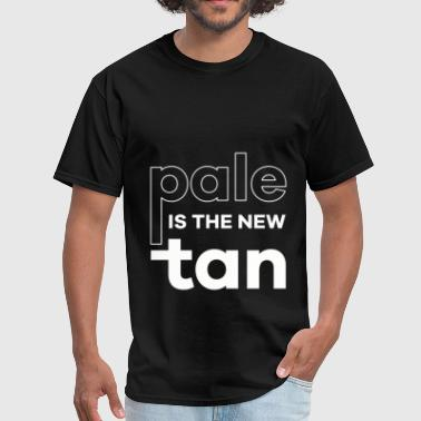 Pale is the new tan - Men's T-Shirt