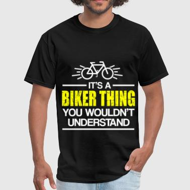 BIKER THING 2.png - Men's T-Shirt