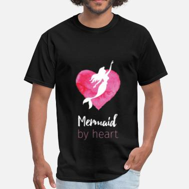 Mermaid At Heart Mermaid by heart - Men's T-Shirt