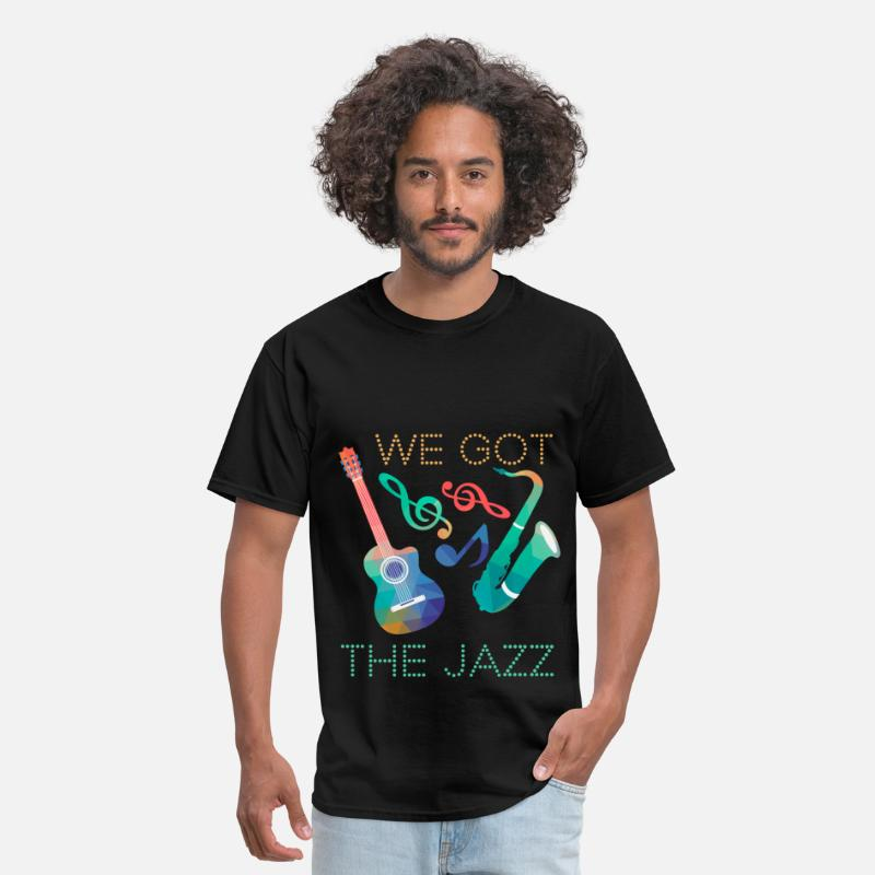 Jazz T-shirt T-Shirts - We got the jazz - Men's T-Shirt black