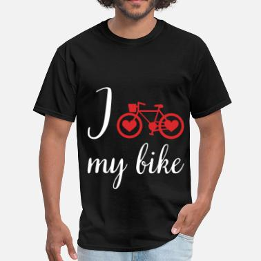 Love My Bike I love my bike - Men's T-Shirt