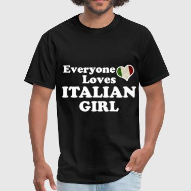 girl italian 116565.png - Men's T-Shirt