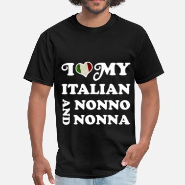 I Love My Nonna NONNO NONNA 12234567.png - Men's T-Shirt