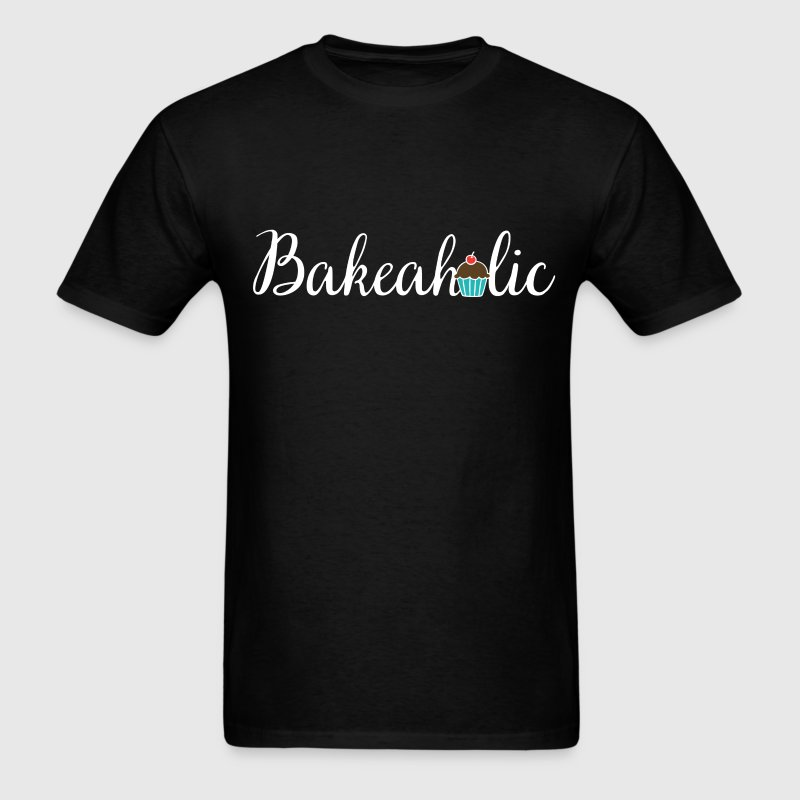 Bakeaholic - Men's T-Shirt