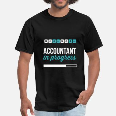 Accounting Accountant in progress - Men's T-Shirt