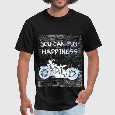 You can buy happiniess - Men's T-Shirt