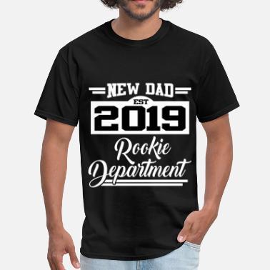 7ad56532 New Dad new dad 2019 2.png - Men's T-. Men's T-Shirt