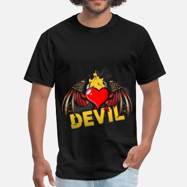 Soccer Devil Devil - Men's T-Shirt
