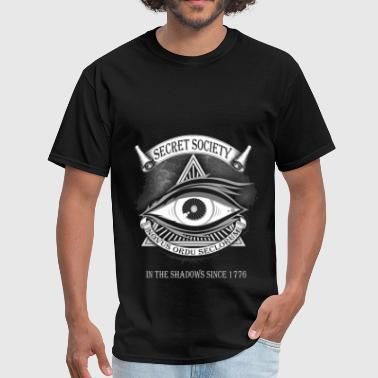 Illuminati - Secret society novus ordu seclorum -I - Men's T-Shirt