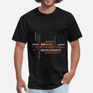 Developer Art Software developer - Software developing - Men's T-Shirt