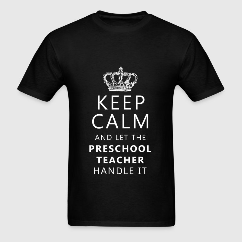 Preschool teacher - Keep calm and let the Preschoo - Men's T-Shirt
