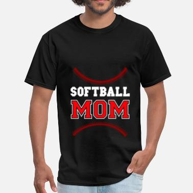 Softball Mom Gift Softball - Softball Mom - Men's T-Shirt