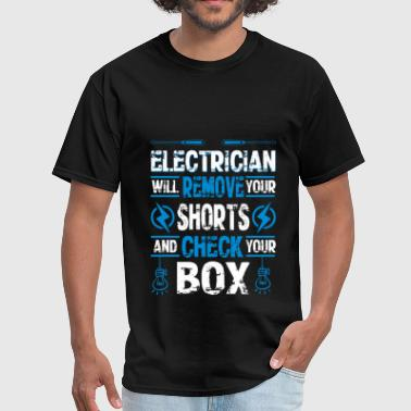 Electrician - Electrician - Men's T-Shirt