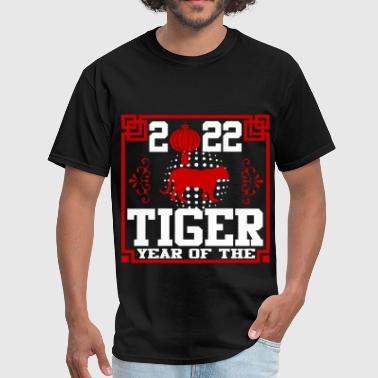 year of the tiger 1111.png - Men's T-Shirt
