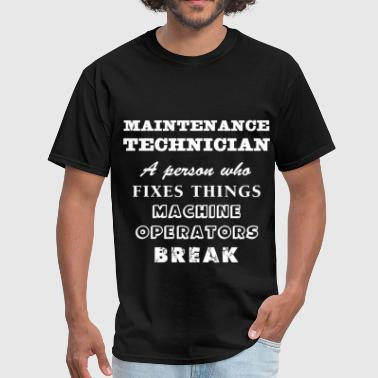 Maintenance technician - Maintenance technician A  - Men's T-Shirt