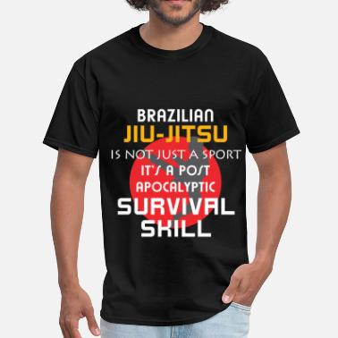 Jiu Jitsu Clothes Brazilian jiu-jitsu - Brazilian jiu-jitsu is not j - Men's T-Shirt