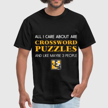 Crossword Puzzle Crossword puzzles - All I care about are Crossword - Men's T-Shirt