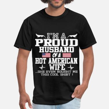 American Wife american wife 12192819289121.png - Men's T-Shirt