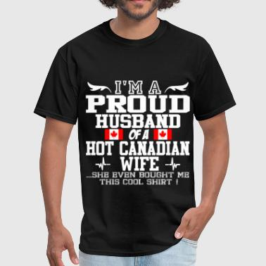 canadian wife 115644.png - Men's T-Shirt