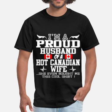 Canadian Wife canadian wife 115644.png - Men's T-Shirt