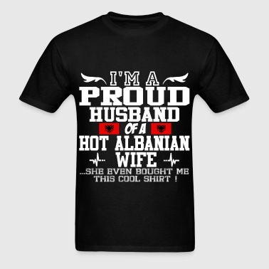 albanian wife 114562.png - Men's T-Shirt