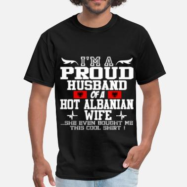 Albanian Wife albanian wife 114562.png - Men's T-Shirt
