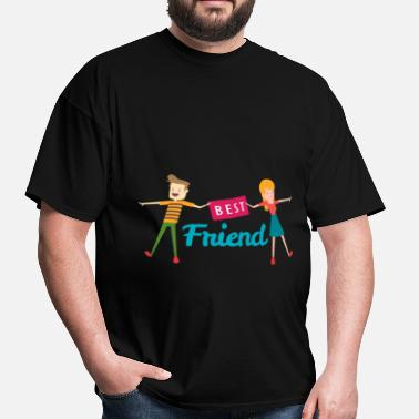 Friends Apparel Best Friend - Best Friend - Men's T-Shirt