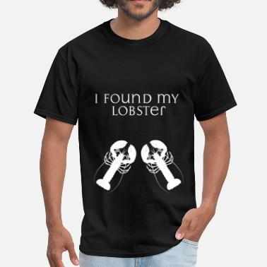 Lobster Apparel Lobsters - I found my lobster - Men's T-Shirt