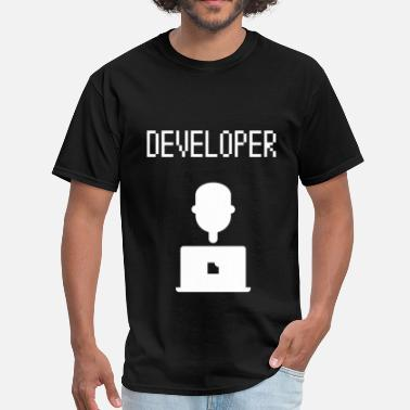 Developer Art Developer - Developer - Men's T-Shirt