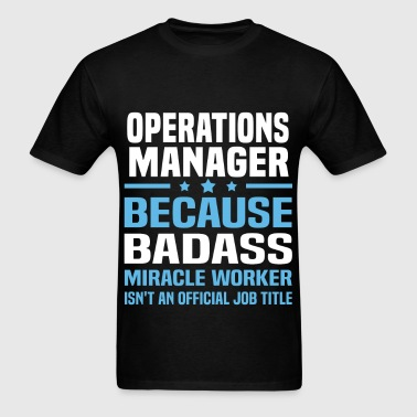 Operations Manager - Men's T-Shirt