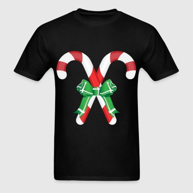 Candy-Canes - Men's T-Shirt