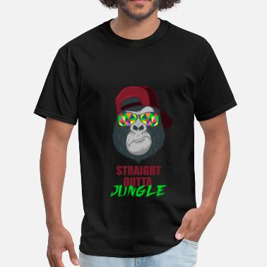 Jungle Apparel Jungle - Straight Outta Jungle - Men's T-Shirt