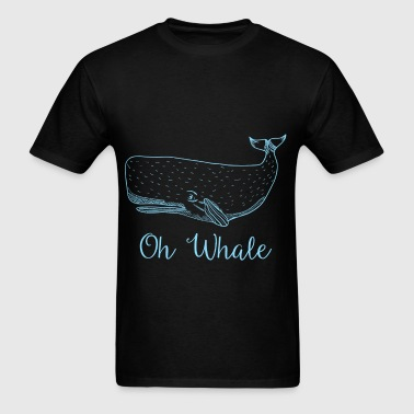 Whale - Oh Whale - Men's T-Shirt