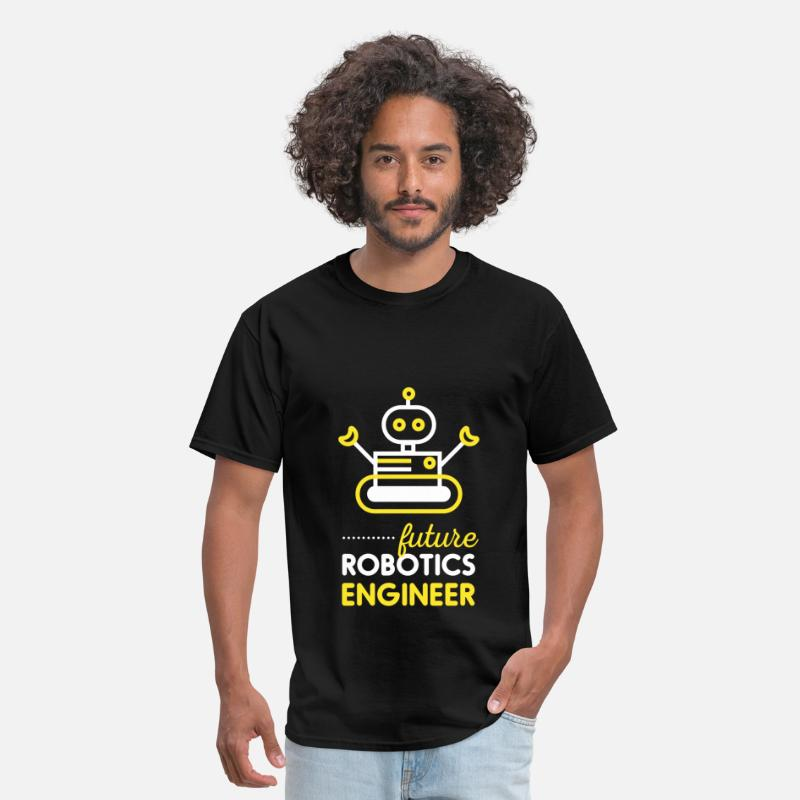 Robotics Engineer T-shirt T-Shirts - Robotics Engineer - Future robotics engineer - Men's T-Shirt black
