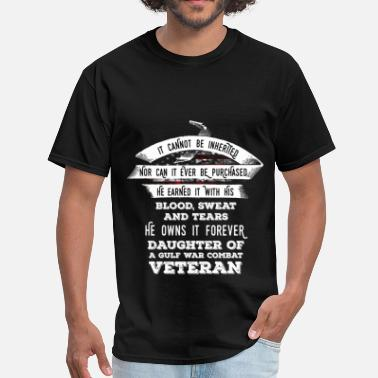 Purchase Veteran - It cannot be inherited nor can it ever b - Men's T-Shirt