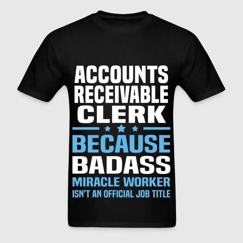 Accounts Receivable Clerk - Men's T-Shirt