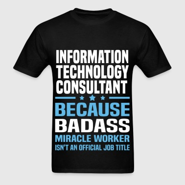 Information Technology Consultant - Men's T-Shirt